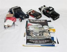 THREE VARIOUS MODELS, including 1956 Black Ford F-100 Pickup and various accessories (Group AF).