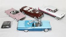 FOUR VARIOUS MODELS, including Danbury Mint 1957 Ford Thunderbird.