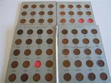 A COLLECTION OF COINS AND NOTES, Australian half penny collection 1911-1944 (1923 missing) and 1945-1964. Great Britain halfpennies...