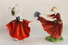 TWO ROYAL DOULTON FIGURES,