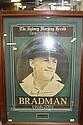 SIR DONALD BRADMAN Sydney Morning Herald tribute edition to the late Sir Donald Bradman. 53 x 38cm.