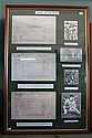THREE OF THE BEST Copies of three score sheets featuring centuries scored by Don Bradman - NSW v Queensland, SCG, 1930 - Australia v...