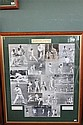 AUSTRALIAN CAPTAINS, BRADMAN TO WAUGH 1936 - 2000 Fine collage of Australian Test Captains from Bradman to Waugh.  Array of black an...