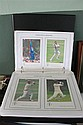 Stamp Publicity and TCCB/ECB. The Offical Collection of International Cricketers. Collection of large coloured cards, housed in 3 ri...