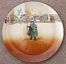 A ROYAL DOULTON SERIES-WARE CHARGER 'Tony Weller'. Diameter 34.5cm.