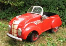 Antique Tin Toys, Pedal Cars, Pressed Steel, Batman & Cast Iron
