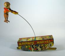 Marx Tin Acrobat Toy