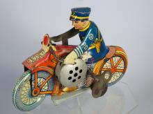 1930s Marx Motorcycle Cop