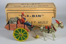 Marx Tin Hee-Haw Balky Mule in Box