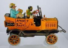 Louis Marx Tin Amos & Andy Fresh Air Taxi