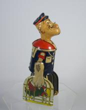 Louis Marx Tin Popeye Walking Toy