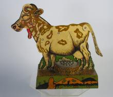 Early Louis Marx Tin Mooing Cow