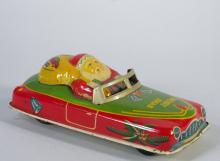1950s Japan Tin Santa Car Scarce