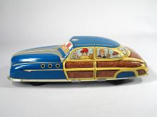 Marx Woody Sedan Tin Litho