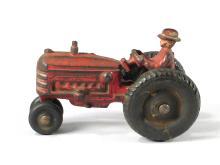 Hubley Massey Harris Cast Iron Tractor
