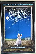 Charlotte's Web Movie Poster -  Fanning, Roberts, Winfrey