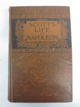 Book: The Life of Napoleon The Great by Sir Walter Scott, J.B. Lippincott, 1887