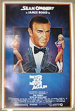 Movie Poster - Never Say Never Again - Sean Connery