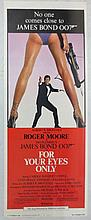 Movie Poster - For Your Eyes Only - Roger Moore