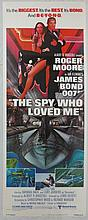 Movie Poster - The Spy Who Loved Me - Roger Moore