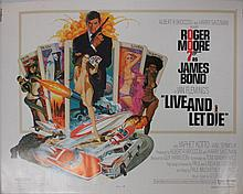 Movie Poster - Live and Let Die - Roger Moore