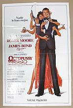 Movie Poster - Octopussy - in Italian - Roger Moore