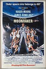 Movie Poster - Moonraker - Roger Moore