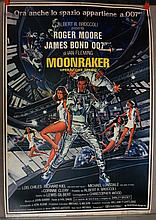 Movie Poster - Moonraker - in Italian - Roger Moore