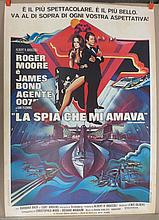 Movie Poster - The Spy Who Loved Me - in Italian - Roger Moore