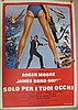 Movie Poster - For Your Eyes Only - in Italian - Roger Moore