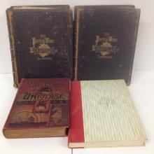 leather bound books: Longfellow