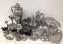 Extensive Pewter collection