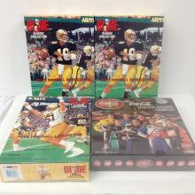 GI Joe Army and Navy Football Quarterbacks and Coke Nascar game