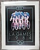 Peter J. Heer/ L.A. Games Framed Bicycle poster