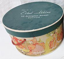 Antique hatbox #1