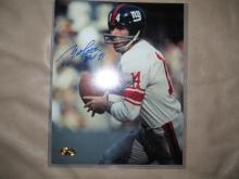 Y.A. Tittle Autographed/signed Photo
