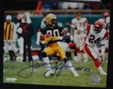 James Lofton Autographed photo