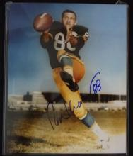 Ron Kramer autographed photo