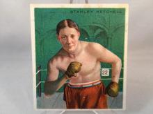 1910 T218 Hassan Cigarettes Stanley Ketchell Boxing Tobacco Card. High Grade
