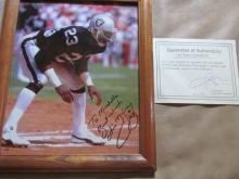 Framed Ottis McKinney autographed photo