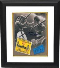 Framed Kenny Norton autographed photo 18x20