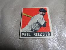 1948 Leaf Phil Rizzuto Rookie Card
