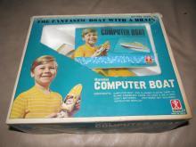 Vintage Bandai computer boat