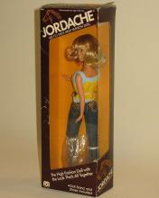 Vintage in box Mego Jordache doll