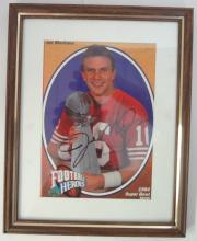 Joe Montana Autographed Photo/card