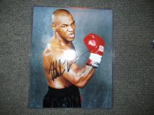 Mike Tyson autographed Photo COA