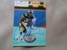 Carnell Lake Autographed Card