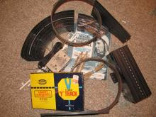 Stirling Moss Model motoring track, controllers transformer from 60's
