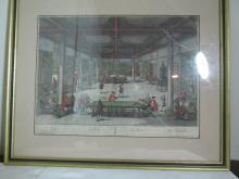 Georg Balthasar Probst late 1700's etching