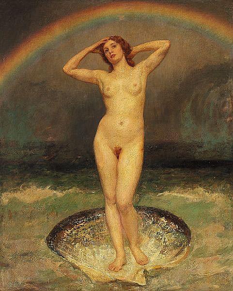 Laurits Tuxen: Venus Anadyomene (